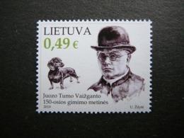 Writer. Dogs # Lithuania Lietuva Litauen Lituanie Litouwen # 2019 MNH #Mi.1316 - Litauen