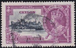 Ceylon     .    SG        .     382       .         O      .       Cancelled .   /   .   Gebruikt - Ceylon (...-1947)