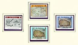 ST HELENA - 1981 Maps Set Unmounted/Never Hinged Mint - Saint Helena Island