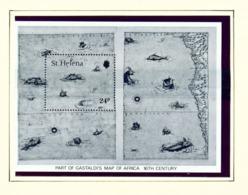 ST HELENA - 1981 Maps Miniature Sheet Unmounted/Never Hinged Mint - Saint Helena Island