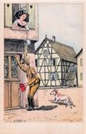 Fantaisie - 3 C.P.A. - La Fin Du Nazisme En Alsace - Guerra 1939-45