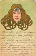 Fantaisie - Art Nouveau - Tête De Femme - Femmes