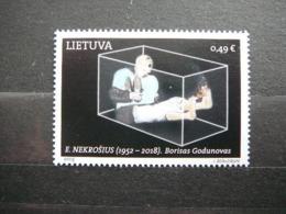 Contemporary Art Of Lithuania Theatre # Lietuva Litauen Lituanie Litouwen # 2019 MNH # - Lituanie