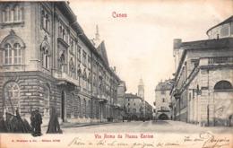 CPA CUNEO - Via Roma Da Piazza Torino - Cuneo