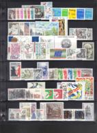 France : Année 1981 Complète, 60 Timbres Neufs**, Faciale 17,26 €. - France