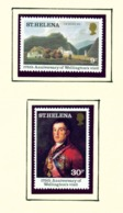 ST HELENA - 1980 Wellington's Visit Set Unmounted/Never Hinged Mint - Saint Helena Island