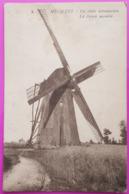 Cpa Hechtel Le Vieux Moulin De Oude Windmolen Carte Postale Limbourg Belgique Rare Proche Beringen Lommel Kerkhoven - Hechtel-Eksel