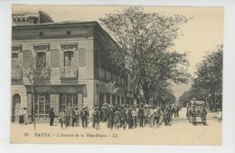 AFRIQUE - ALGERIE - BATNA - L'Avenue De La République - Batna