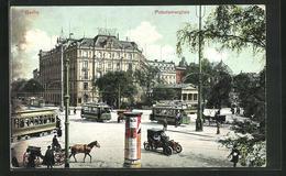 AK Berlin-Tiergarten, Potsdamerplatz Mit Strassenbahn - Tramways