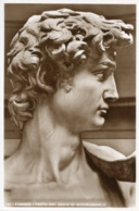 Cartolina Antica TESTA DEL DAVID Di MICHELANGELO (Firenze) - OTTIMA R18 - Sculture