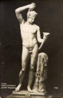 Cartolina Antica SATIRO VERSANTE (Museo Nazionale, Roma) - OTTIMA R18 - Sculture