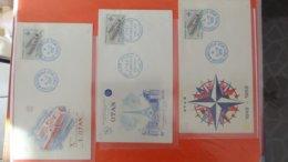 Dispersion D'une Collection D'enveloppe 1er Jour Et Autres Dont 104 EUROPA De FRANCE - Colecciones (en álbumes)