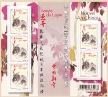 BLOC**.  NOUVEL AN CHINOIS ANNEE DU LAPIN  2011  / 14 - Ungebraucht