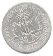Haiti 20 Centimes 1907 - Haiti