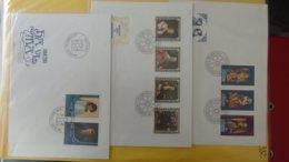 Dispersion D'une Collection D'enveloppe 1er Jour Et Autres Dont 120 Du LIECHTENSTEIN Entre 1982 Et 1992 - Colecciones (en álbumes)