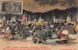 CPA Afrique Occidentale - Dahomey - ABOMEY - Marché Indigène à L'une Des Entrées Du Palais De Béhanzin - Dahomey
