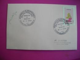 Journées Européennes Du Patrimoine, Modernité, Aix En Provence, Timbre Bonemine (Astérix) - Poststempel (Briefe)