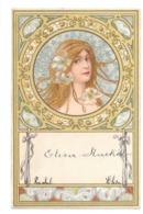 CPA ART NOUVEAU KOSA FEMME FLEUR MARGUERITTE - 1900-1949