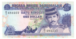 BRUNEI1RINGGIT1989P13UNCSeries 1989 - 13A.CV. - Brunei