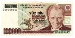 Turchia 100.000 Lirasi 1970 - Turkije