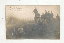 Cp, Carte Photo , Militaria,hopital Militaire , Une Pêche à ROZOUER , Vierge - Personnages