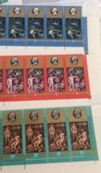 USSR Russia 1980 Block 20th Anniversary Yuri Gagarin Cosmonaut Training Center Space People Sciences Stamps MNH - Celebrations
