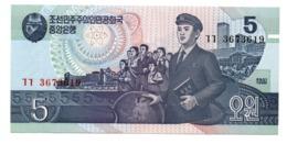 Corea Del Nord North Corea 5 Won 1987 - Korea, Noord