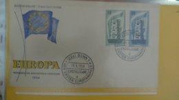 Dispersion D'une Collection D'enveloppe 1er Jour Et Autres Dont 181 EUROPA D'ALLEMAGNE - Briefmarken