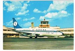 VV-465   ANTWERPEN Airport With Sabena Airplane - Aérodromes