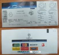AC - GALATASARAY SKv PSV EINDHOVEN CHAMPIONS LEAGUE 18 OCTOBER 2006 FOOTBALL - SOCCER TICKET - Tickets - Entradas