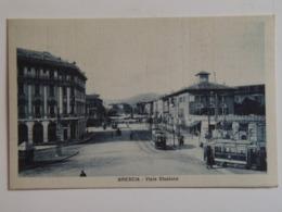 Brescia 137 Viale Stazione Tram Tram 1920 Ed Ghidoni 719 - Brescia