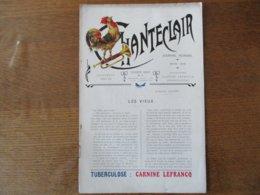 CHANTECLAIR MARS 1908 LE PROFESSEUR DIEULAFOY CARNINE LEFRANC SOURCE D'ENERGIE ROMAINVILLE SEINE - Publicités