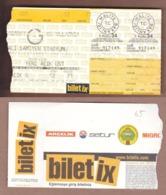 AC - GALATASARAY SKv KS VLLAZNIA UEFA 25 JULY 2001 FOOTBALL - SOCCER TICKET - Tickets - Entradas