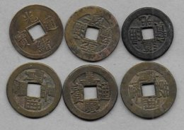 CHINE - 6 Monnaies à Identifier - China