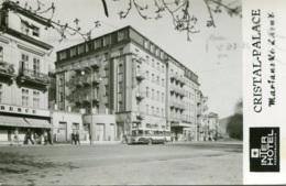 """Trolleybus Marianske Lazne,Bad Marienbad,Interhotel """"Cristal Palace"""", Gelaufen - Bus & Autocars"""