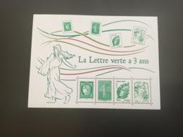 France 2014 Bloc Lettre Verte - Frankreich