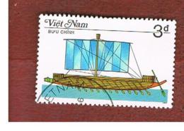 VIETNAM - SG 992    -   1986   SAILING SHIPS: PHOENICIAN WAR GALLEY                         -    USED - Vietnam