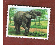 VIETNAM - SG 1046    -   1987 ANIMALS: ASIAN ELEPHANT                       -    USED - Vietnam