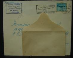 LetDoc. 311. Utilisez La Poste Aérienne Sur Le 725 Y&T - Flammes
