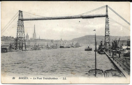 Rouen:Le Pont Transbordeur - Rouen