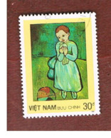 VIETNAM - SG 1127    -   1987 P. PICASSO PAINTINGS: CHILD WITH DOVE                    -    USED - Vietnam