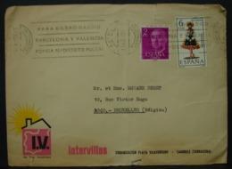 LetDoc. 312. Lettre Envoyée D'Espagne Vers Bruxelles - 1931-Aujourd'hui: II. République - ....Juan Carlos I