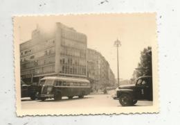 Photographie ,automobile, Car , Camion, SUISSE , GENEVE ,1955 - Auto's