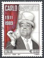 Italia, 2011 Carlo Dapporto, 0.60€ Multi # Sassone 3251 - Michel 3461 - Scott 3073  USATO - 2011-...: Usati