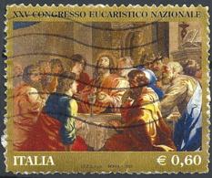 Italia, 2011 Congresso Eucaristico Nazionale, 0.60€ Multi # Sassone 3268 - Michel 3479 - Scott 3091  USATO - 6. 1946-.. Repubblica