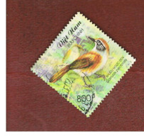 VIETNAM - SG 2480  -   2002  BIRDS: GARRULAX PECTORALIS         -    USED - Vietnam