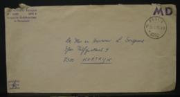 LetDoc. 313. Lettre Envoyée D'Allemagne Vers Courtrai. Post.6 Le 29-9-75 BB - Marcophilie