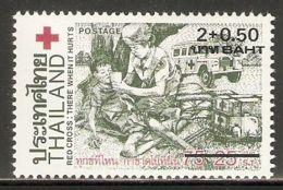 Thailand 1987 Mi# 1197 ** MNH - Surcharged - Red Cross - Thaïlande