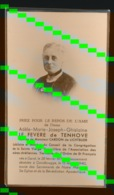 ADEL  ADELE LE FEVERE De TENHOVE - GENT 1871 - GENTBRUGGE 1940 - Décès