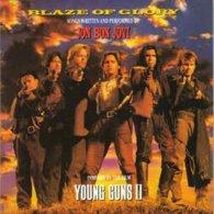 Jon Bon Jovi- Blaze F Glory/Young Guns II - Music & Instruments